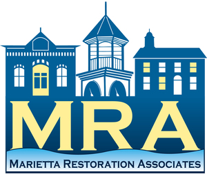 Past Marietta Restoration Associates (MRA) President Thanks MRA and Tour Committee