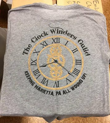 Marietta Restoration Associates Holding T-Shirt Sale to Fund Clock Improvements