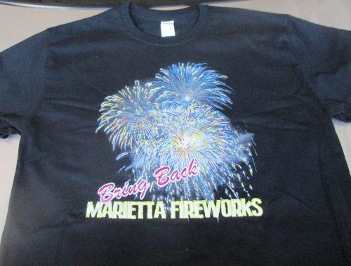 Marietta Fireworks Launches a Comeback