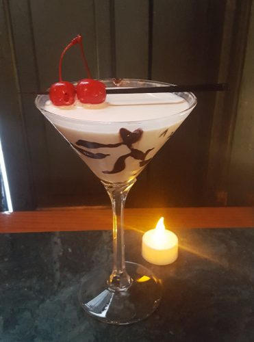 Chocolate-Covered Cherry: The Perfect Holiday Drink
