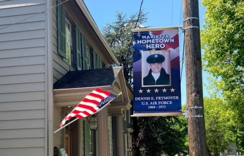 """Hometown Heroes"" Banners Honor Marietta Veterans- More to Come"