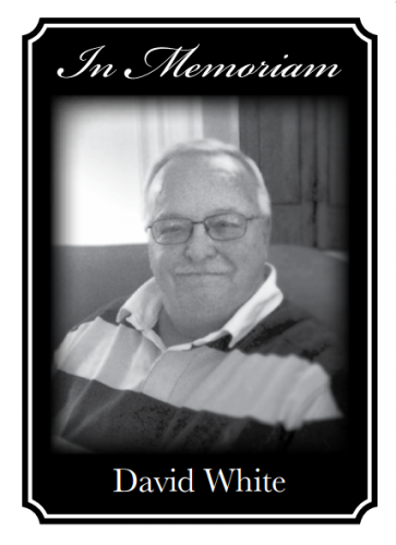 In Memoriam: Dave White- A Life of MRA Leadership